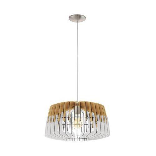 Eglo Artana 32827 lampa wisząca drewno