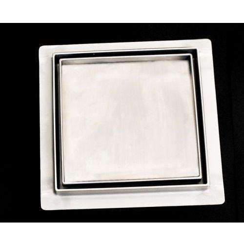 wpust podłogow 15x15cm 150x150knf_m ceramic (syfon metalowy) marki Kesmet