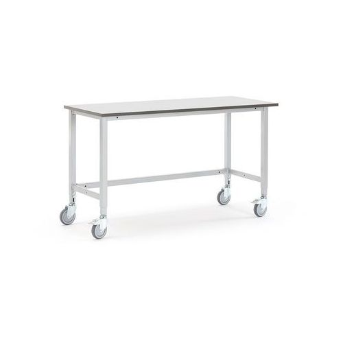 Mobilny stół roboczy MOTION, 1500x600 mm