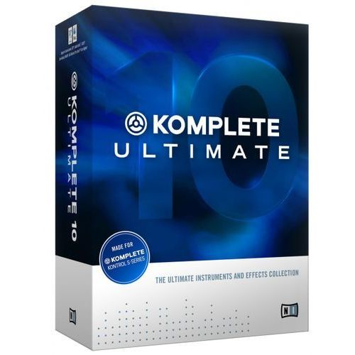 komplete 10 ultimate update - update z komplete ultimate 8 i 9 marki Native instruments