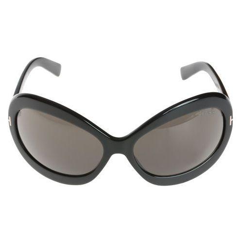 Tom ford edie okulary przeciwsłoneczne czarny uni