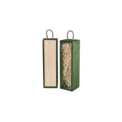 V1 skrzynka upominkowa zielona/naturalna, V-1/15S/W