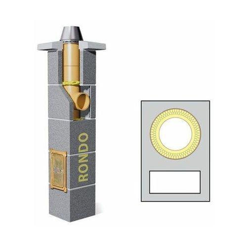 Komin ceramiczny SCHIEDEL Rondo 4m fi200 z pojedynczą wentylacją