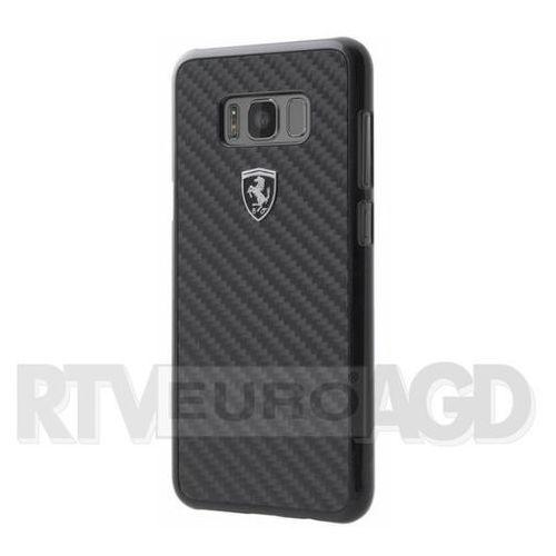 Ferrari FEHCAHCS8LBK Samsung Galaxy S8 Plus G955 (czarny), SAT000266