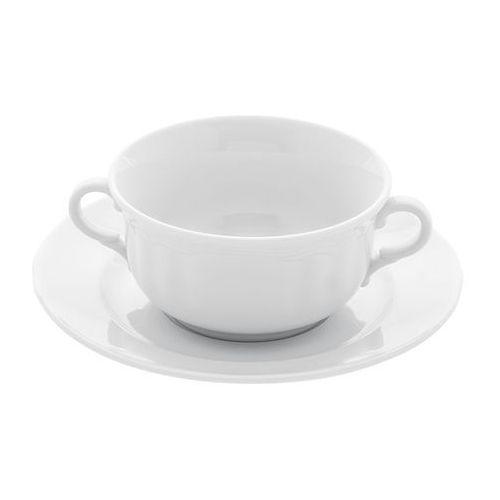 Fine dine Spodek pod bulionówkę porcelanową śr. 18 cm classic