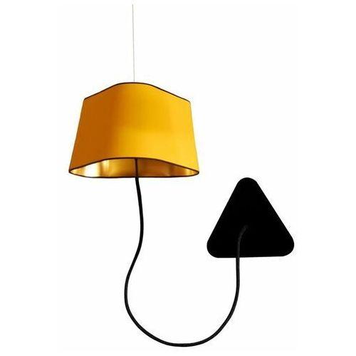 Designheure Petit nuage - kinkiet podwieszany żółty/złoty