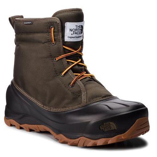 Śniegowce - tsumoru boot t93mks5ua tarmac green/tnf black marki The north face