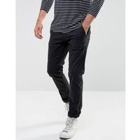 regular fit chino - black, Selected homme