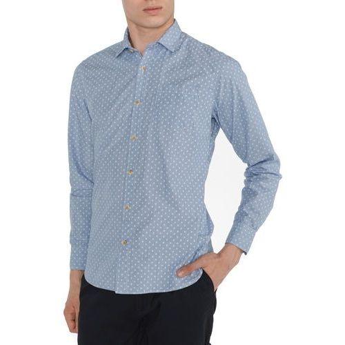 Pepe jeans gregor koszula niebieski s
