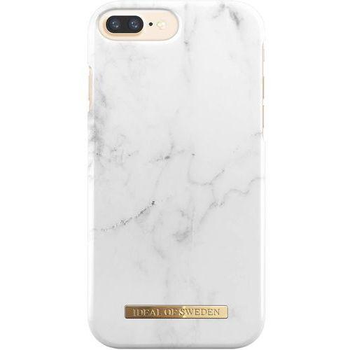 Ideal of sweden fashion case etui obudowa do iphone 8 plus / iphone 7 plus / iphone 6s plus / iphone 6 plus (white marble) marki Ideal of sweden ab
