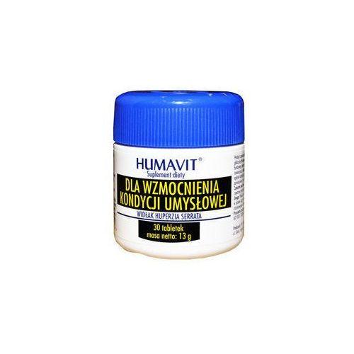 Varia Humavit widłak huperzia serrata dla wzmocnienia kondycji umysłowej x 30 tabletek