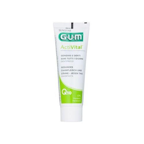 G.U.M Activital Q10 pasta do kompletnej ochrony zębów odświeżająca oddech (0% Parabens) 75 ml (7630019902472)
