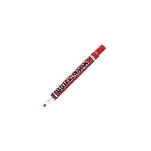 Dykem Brite Mark 916 Marker Czerwony Med