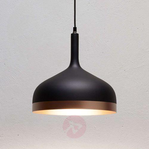 Paulmann Nowoczesna lampa wisząca embla w kolorze czarnym
