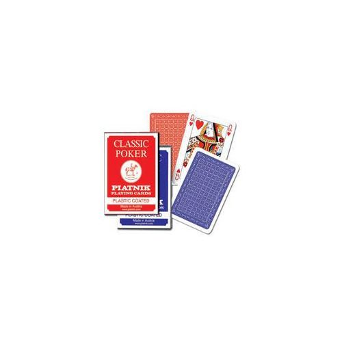 Karty do gry Piatnik 1 talia, Classic Poker, 1321