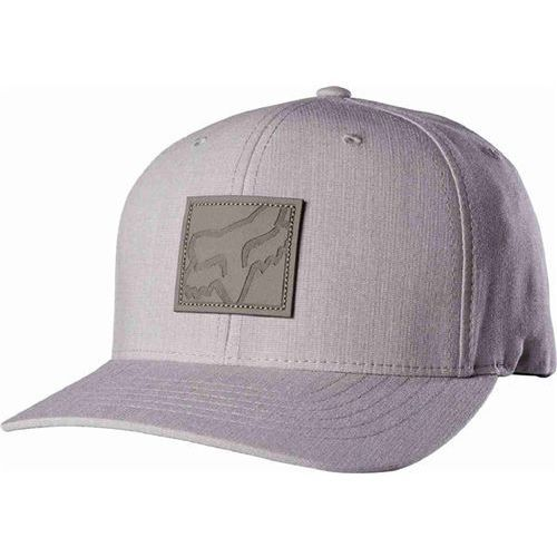 Czapka z daszkiem  - sticks flexfit light heather grey (416) rozmiar: s/m marki Fox