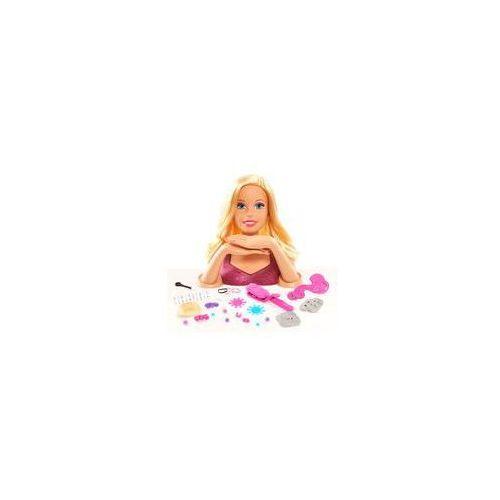 Barbie g�owa do stylizacji blond just play (w�osy i paznokcie)