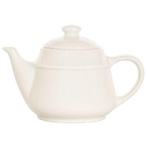 Dzbanek do herbaty porcelanowy CREMA