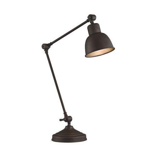 Loftowa industrialna metalowa lampa stołowa lampka Argon Eufrat 1x60W E27 miedź 3233