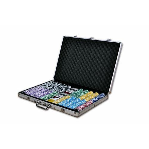 OKAZJA - Pokerowy zestaw ultimate walizka 1000 żetonów marki Garthen