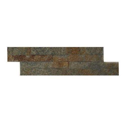 Kamień naturalny Quartz 10 x 35 cm rust 0,385 m2 (5902767920339)