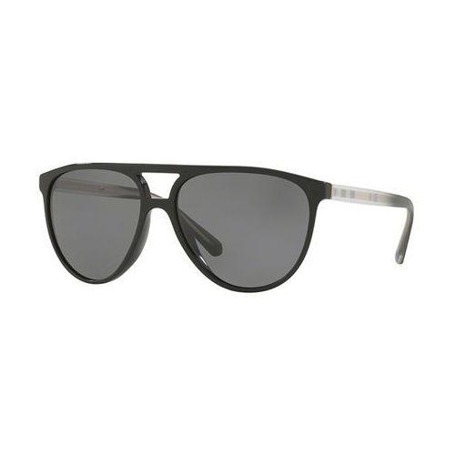 Okulary słoneczne be4254 polarized 300181 marki Burberry