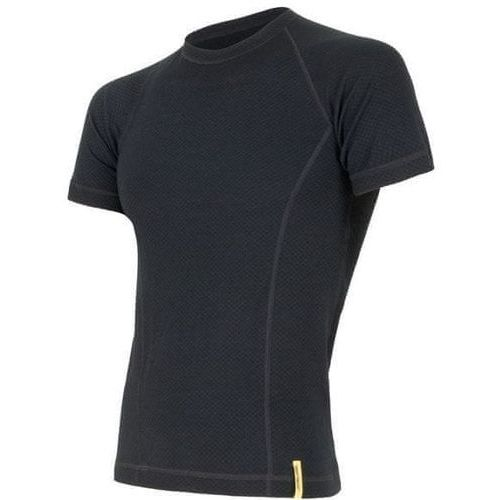 Sensor koszulka termoaktywna z krótkim rękawem double face merino wool m black xxl (8592837017044)