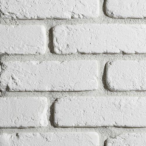 Płytka cegłopodobna - loft 20,6x6,3 - biała cegła marki Stegu