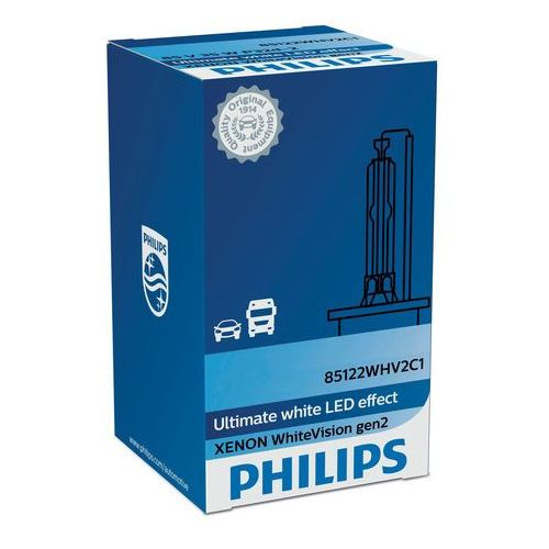 Philips Xenon WhiteVision Samochodowa lampa ksenonowa 85415WHV2C1 (8727900377255)