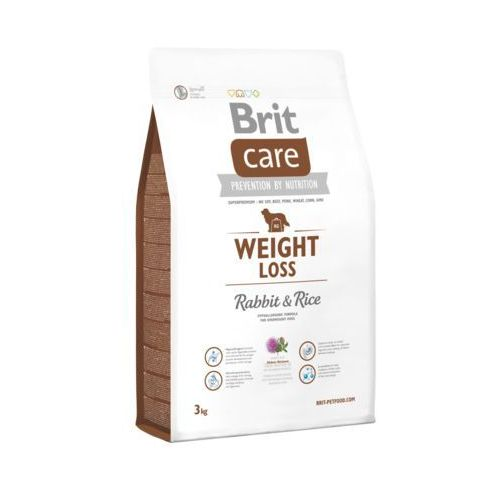 Brit Care Weight Loss Rabbit & Rice 3kg, 76670