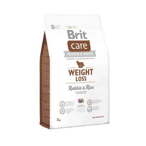 care weight loss rabbit & rice 3kg marki Brit