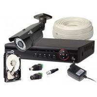 ZESTAW MONITORINGU EASYCAM 1x kamera 720p, Rejestrator, HDD 1TB Z957
