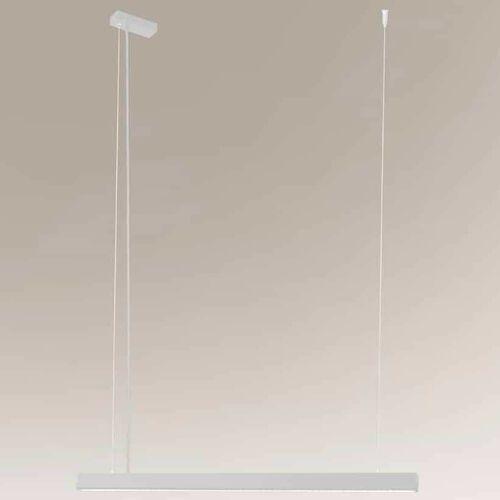 Shilo Lampa wisząca isaseki 1945 metalowa oprawa zwis led 16w 3000k listwa biała (5903689919456)