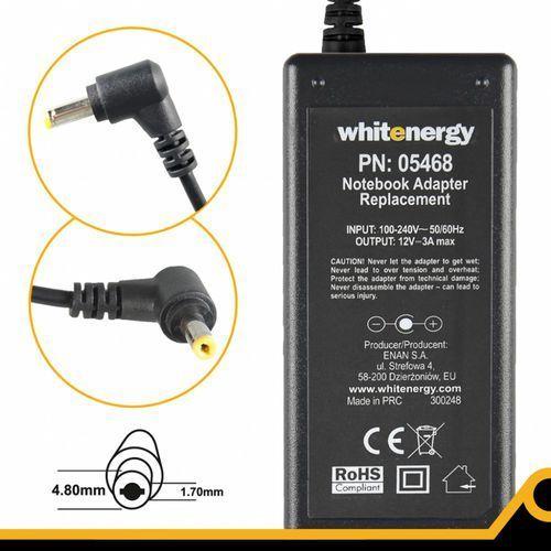 Whitenergy Zasilacz 12v/3a Wtyk 4.8x1.7mm, 05468