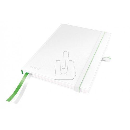 Notatnik Leitz Complete A5 kratka twarda oprawa biały 44770001