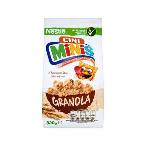 320g cini minis granola płatki śniadaniowe marki Nestle