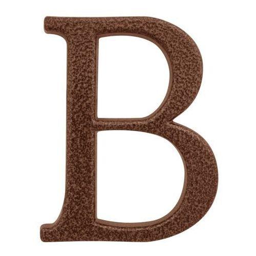 Litera B Stahl 105 mm aluminium złoty brąz (5906711277647)