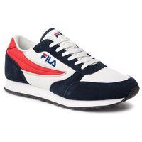 Sneakersy - orbit jogger n low 1010589.21b dress blue/marshmallow marki Fila
