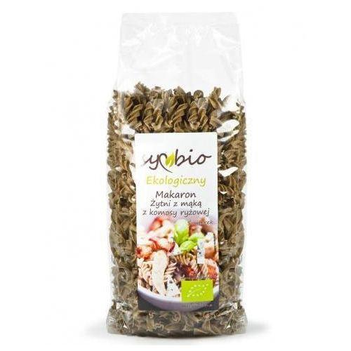 Symbio Makaron żytni z mąką z komosy ryżowej świderki eko 400g