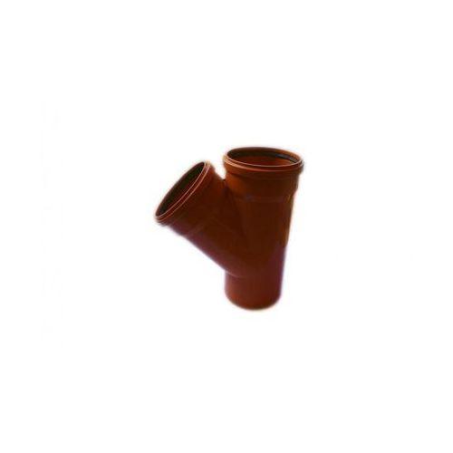 Poliplast Trójnik kanalizacji zewnętrznej 200 x 200 mm/45°