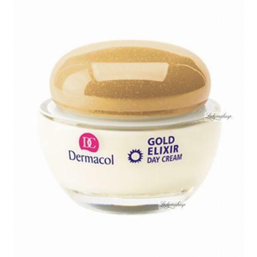 - gold elixir - rejuvenating caviar day cream - odmładzający krem do twarzy z kawiorem na dzień marki Dermacol