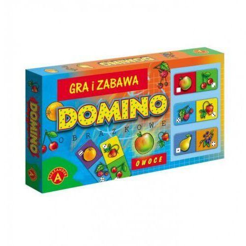 Domino obrazkowe - owoce wiek 4+ marki Alexander
