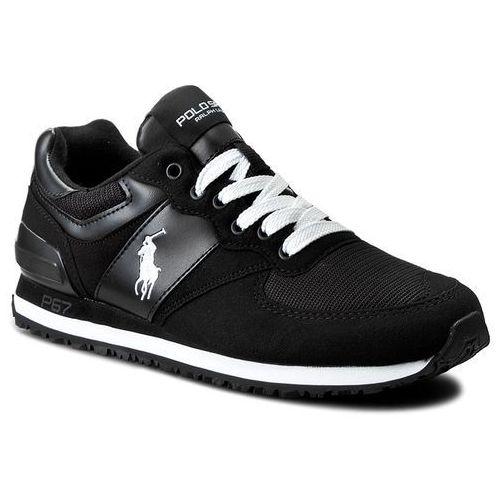 Sneakersy POLO RALPH LAUREN - Slaton Pony A85 Y2136 ROKDW W0166 Black/White, 1 rozmiar