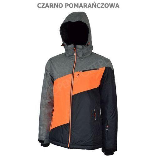47942c6130d8c0 4f Męska kurtka narciarska outhorn toz16 kums601 czarno/pomarańczowy xxl