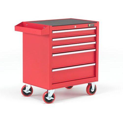 Wózek narzędziowy, 5 szuflad, 805x680x460 mm marki Aj produkty