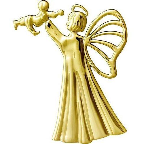 Rosendahl Dekoracja choinkowa karen blixen anioł z niemowlęciem złota