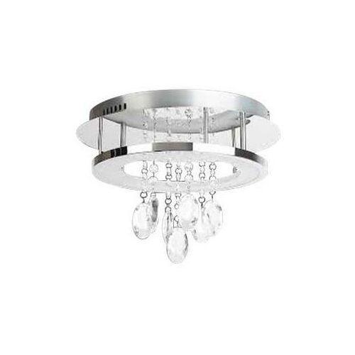 Plafon lampa oprawa sufitowa Rabalux Romina 1x24W LED chrom 2501 (5998250325019)