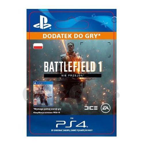 Sony Battlefield 1 - nie przejdą dlc [kod aktywacyjny]