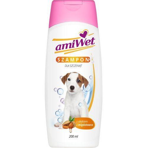 Amiwet szampon dla szczeniąt z olejkiem migdałowca 200ml (5907785441811)