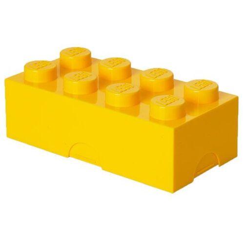 ŚNIADANIÓWKA LEGO KLOCEK ŻÓŁTY - LEGO POJEMNIKI, 4023